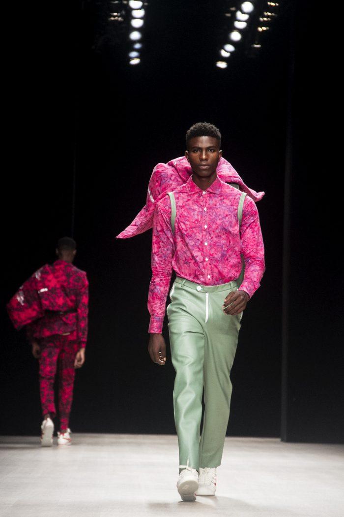 Daniel mayowa ajayi walks arise fashion week'19