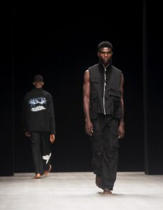 Daniel mayowa ajayi walks arise fashion week'19